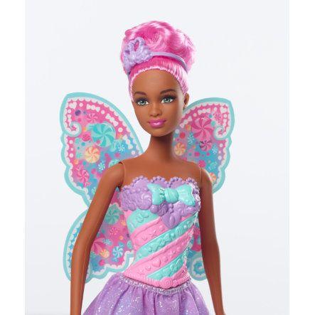barbie dreamtopia fe fe med rosa hr - Barbie Fe