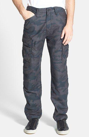 G Star Raw 'Rovic' Camo Drop Crotch Tapered Cargo Pants
