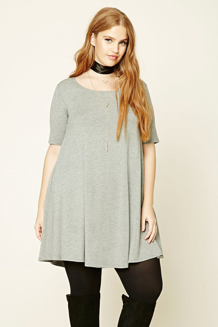 520bd0950a0b Plus Size T-Shirt Dress | Forever 21 PLUS - 2000232256 | Bree Kish ...