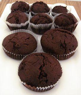 Dark muffin   Recipes hunter