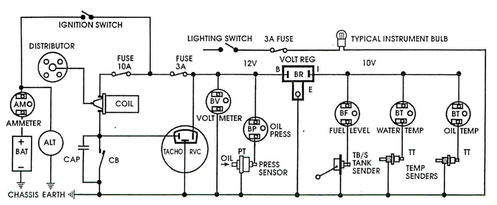Voltage Stabilizer Wiring Diagram Electrical Electronics Mercury Vapor Light