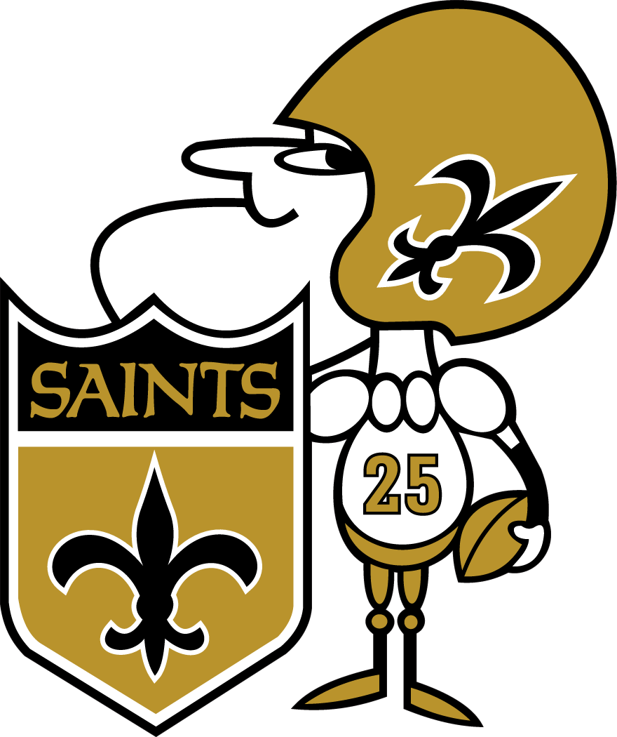 New Orleans Saints Alternate Logo 1967 New Orleans Saints New Orleans Saints Logo New Orleans Saints Football