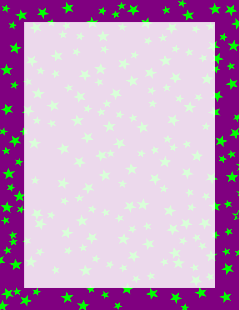 stars border purple and green e t m metaryeller pinterest rh pinterest com purple page border clip art purple ribbon border clip art