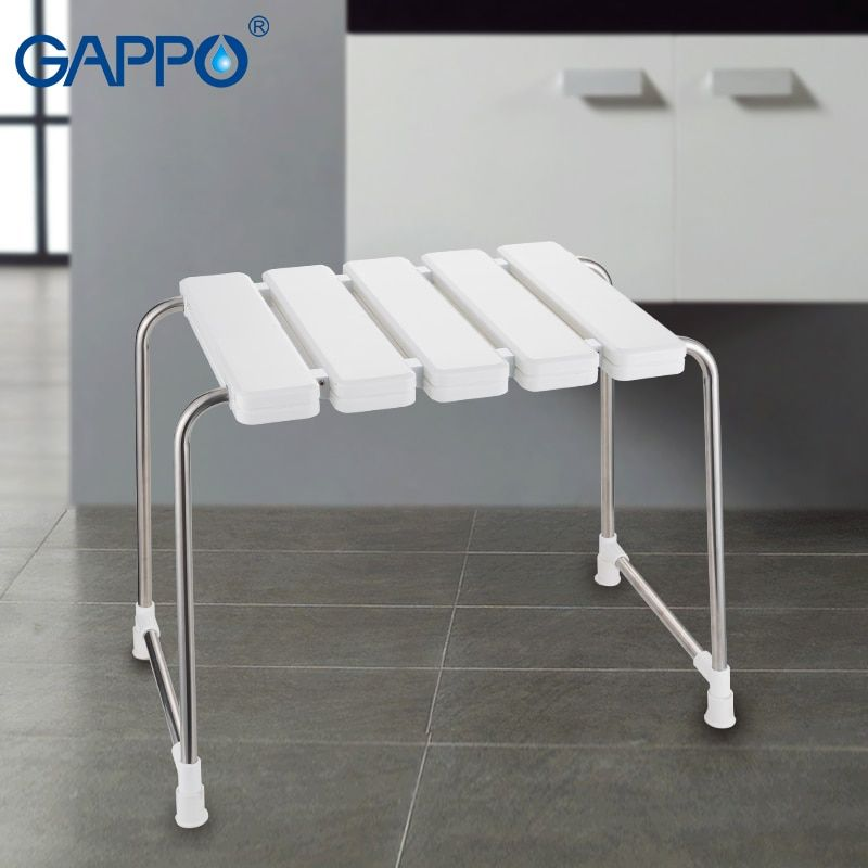 Home Improvement Bathroom Fixtures Gappo Wall Mounted Shower Seats Bathroom Shower Chair Shower Folding Seat Bath Shower Bench Stool Toilet Chair Bath Seat