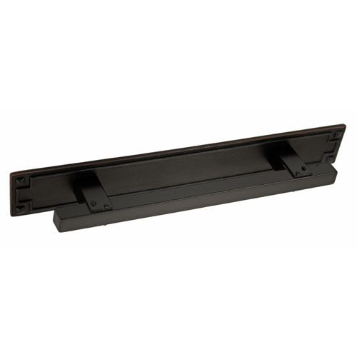 Sonoma Oil Rubbed Bronze 4 Inch Mission Cabinet Pull With