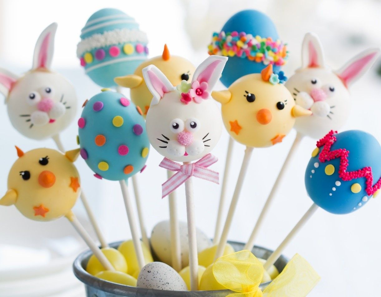 Easter Themed Cake Pops Recipe With Images Cake Pops Easter