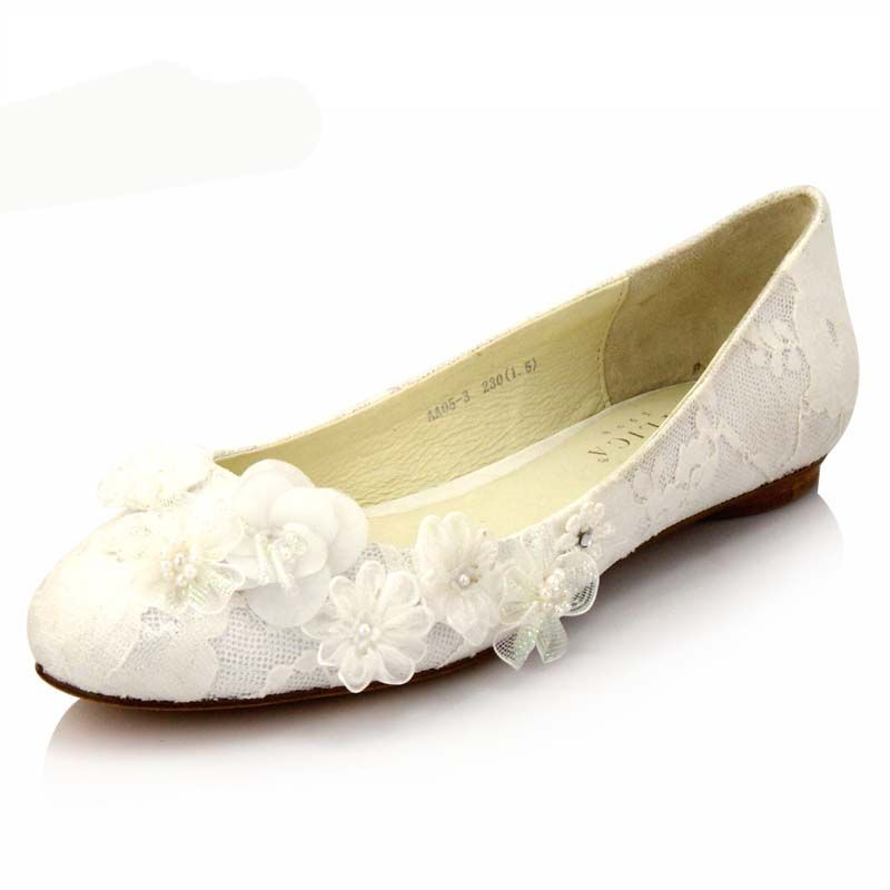 white wedding shoes flats - Google Search | Not too tall wedding ...