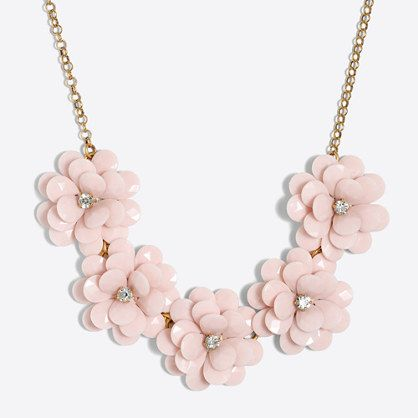 eb5168d2af20bc Crystal floral burst necklace in 2019 | Jewelry | Crystal bead ...