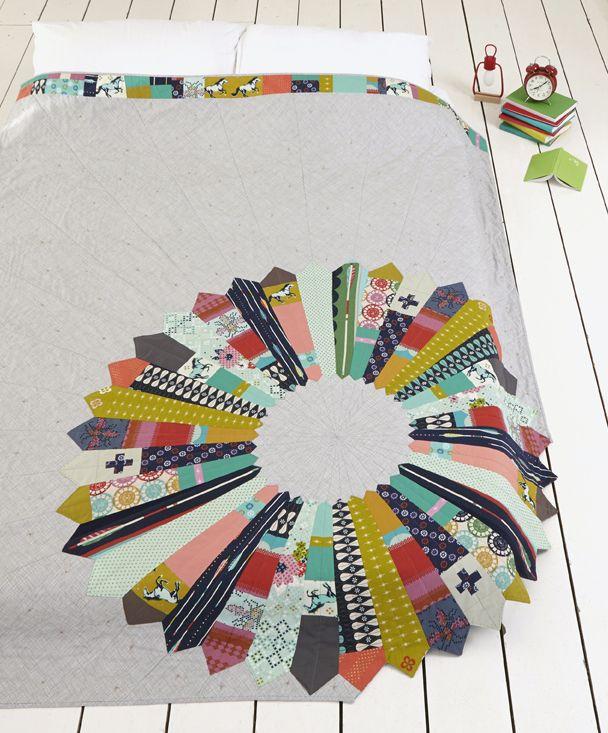 Carousel Quilt By Nicole Calvert Winner Of Sewvivor 2014 For
