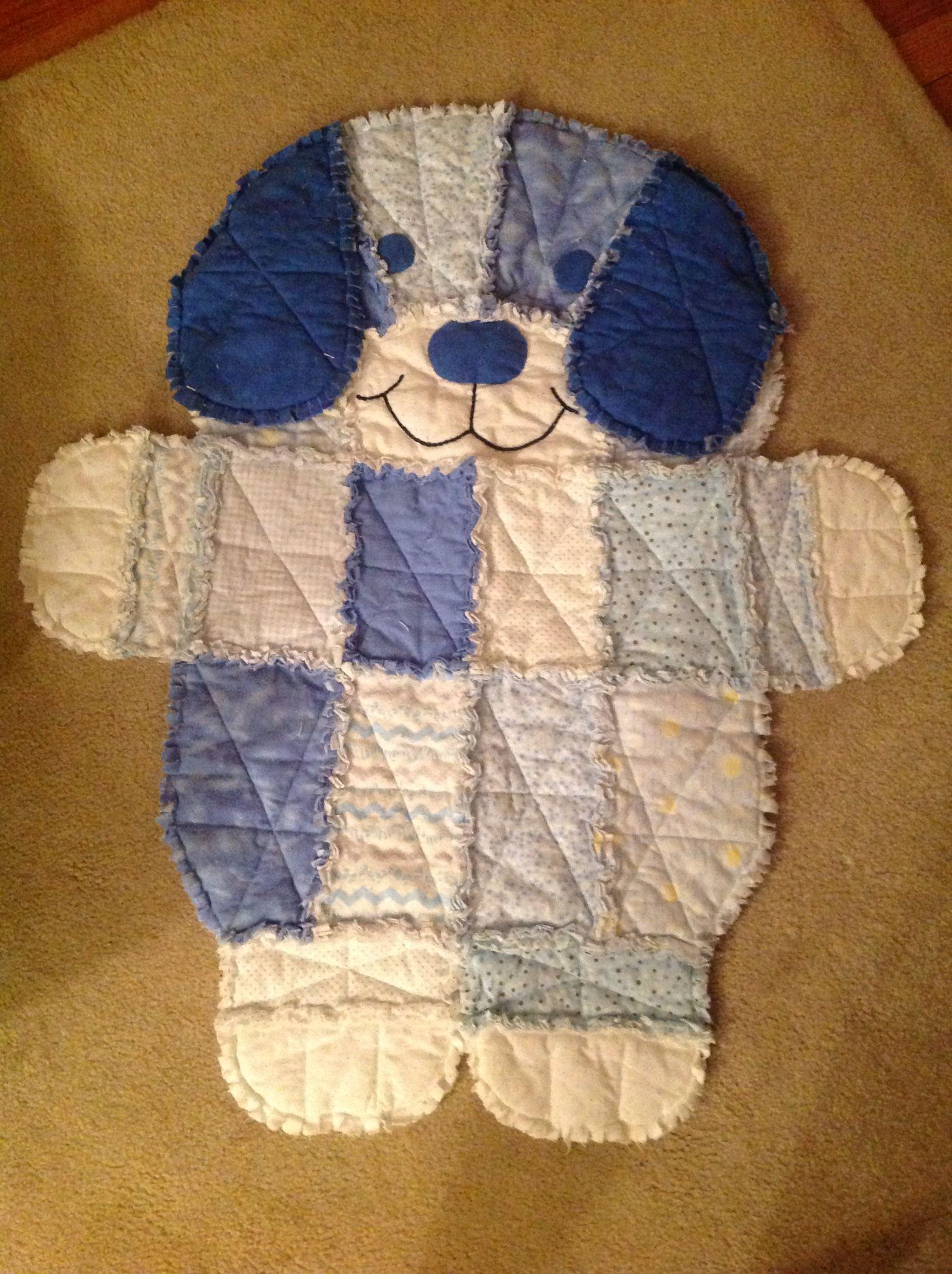 Puppy Rag Quilt Rag Quilt Patterns Free Baby Quilt
