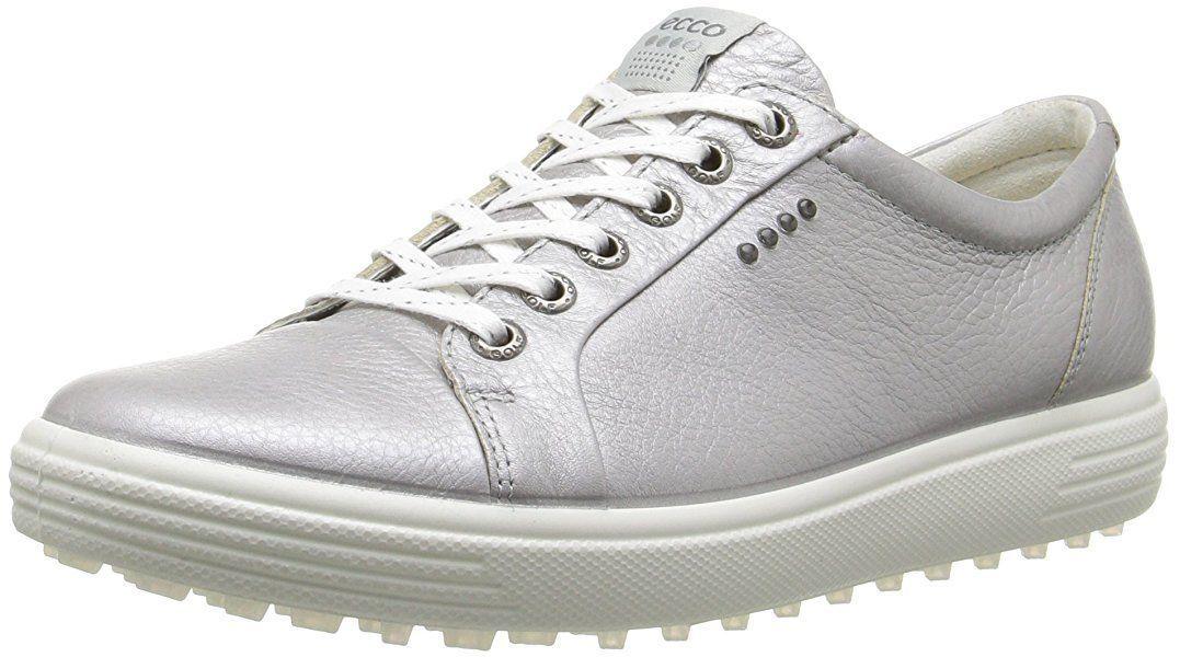 7ba1ef10d78 AmazonSmile   ECCO Women's Casual Hybrid Sport-W Golf Shoe, Silver, 40  EU/9-9.5 M US   Golf