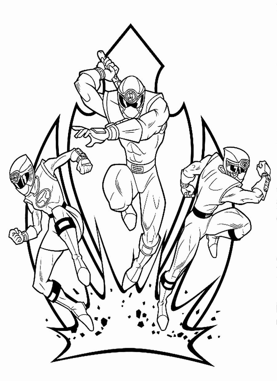 27 Power Ranger Coloring Book in 2020 Power rangers