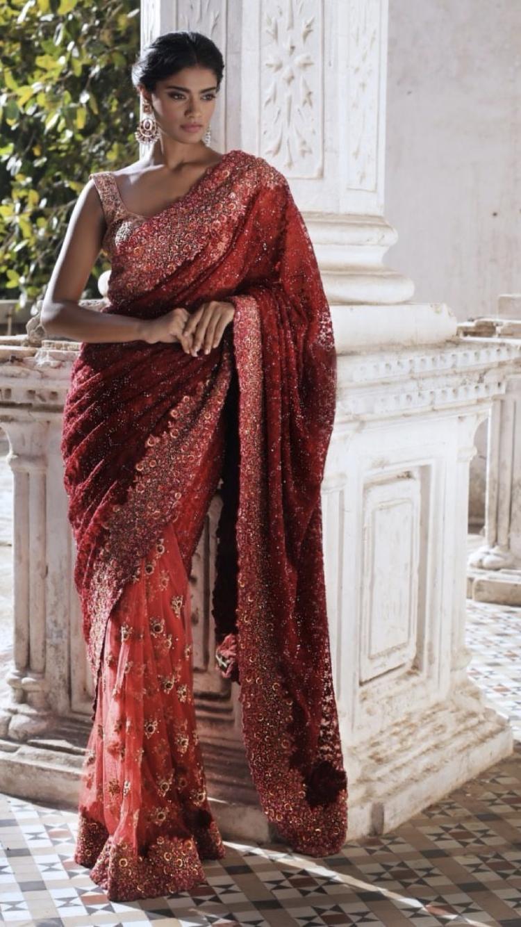 bec959301dd27 This saree by Shyamal & Bhumika 2018 | Ethnic Wear | Shyamal ...