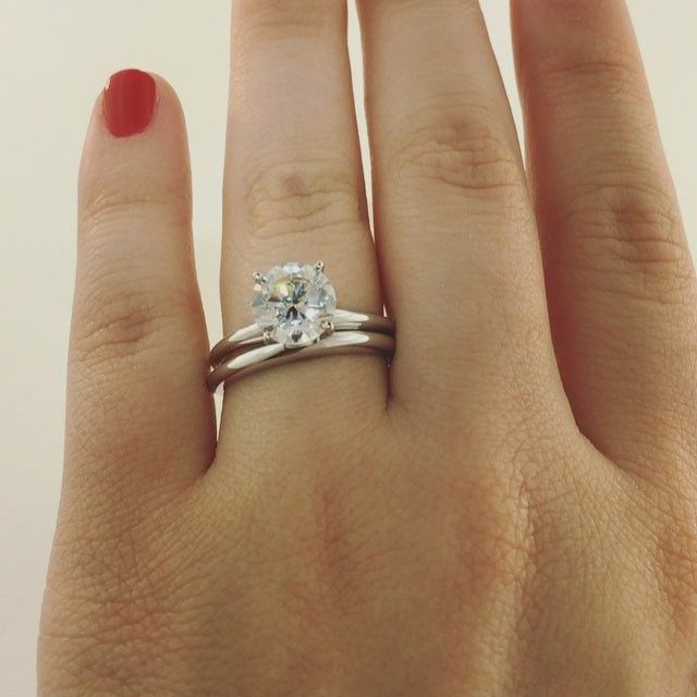 Miadonna Traditional Solitaire Wedding Ring Set Pink Morganite Engagement Ring Wedding Rings Solitaire Vintage Engagement Rings Sapphire