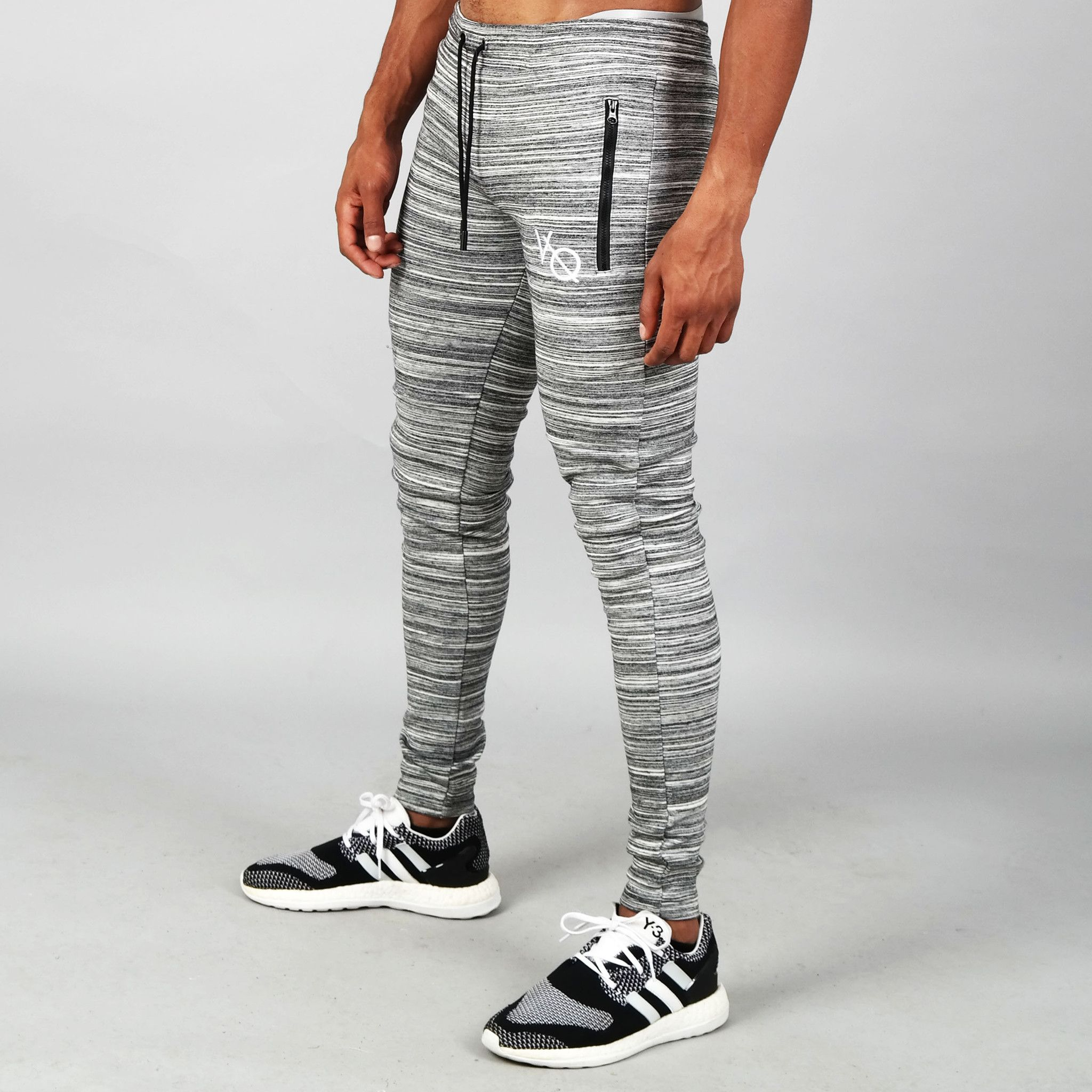 2e17bf9bc Vanquish Slate Grey Flux Tapered Sweatpants from Vanquish Fitness ...