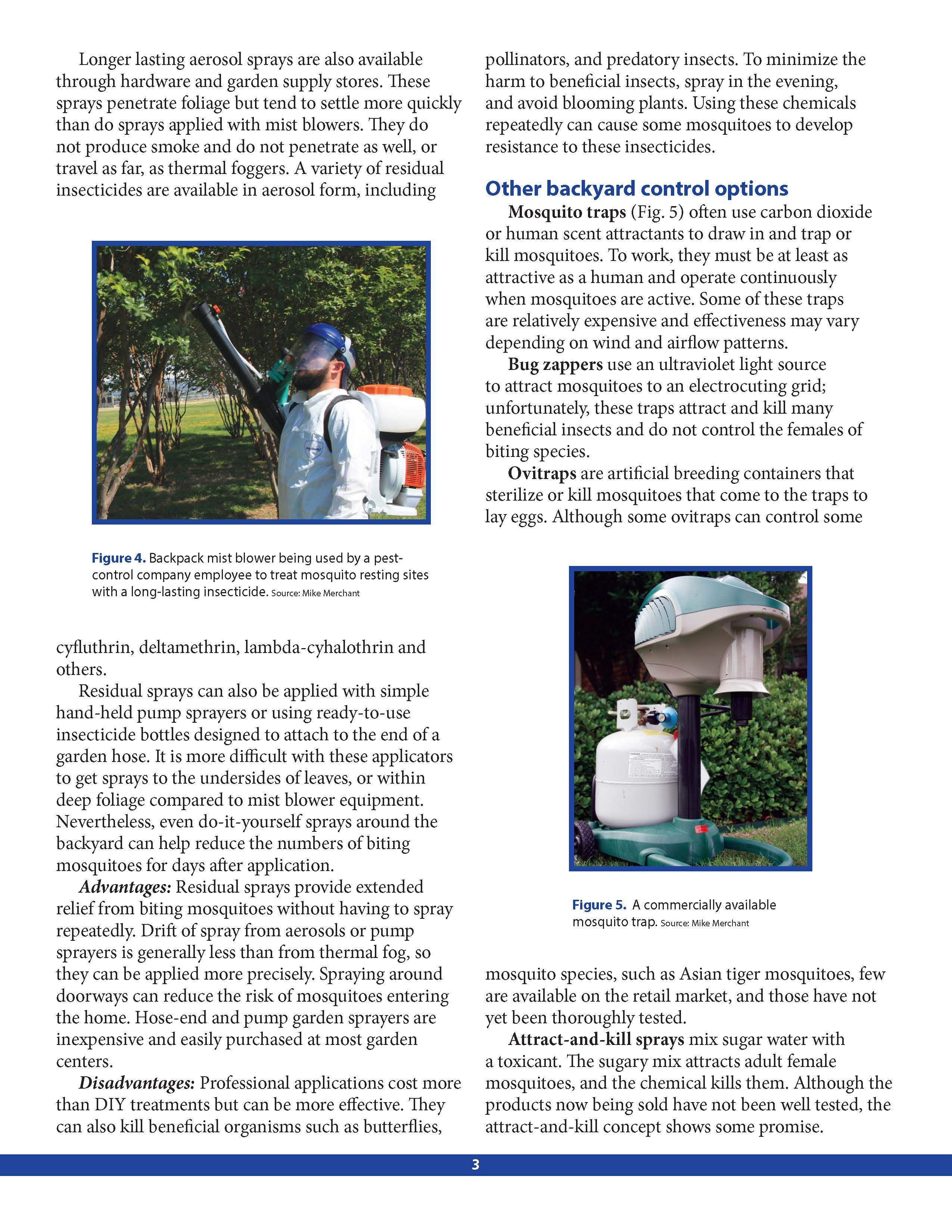diy backyard mosquito control page 3 by texas a u0026m agrilife