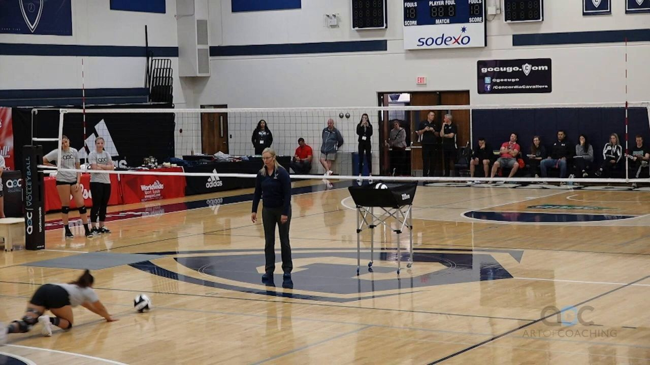 Defense For Beginners Focus On The First Step The Art Of Coaching Volleyball In 2020 Coaching Volleyball Volleyball Practice Volleyball Drills For Beginners
