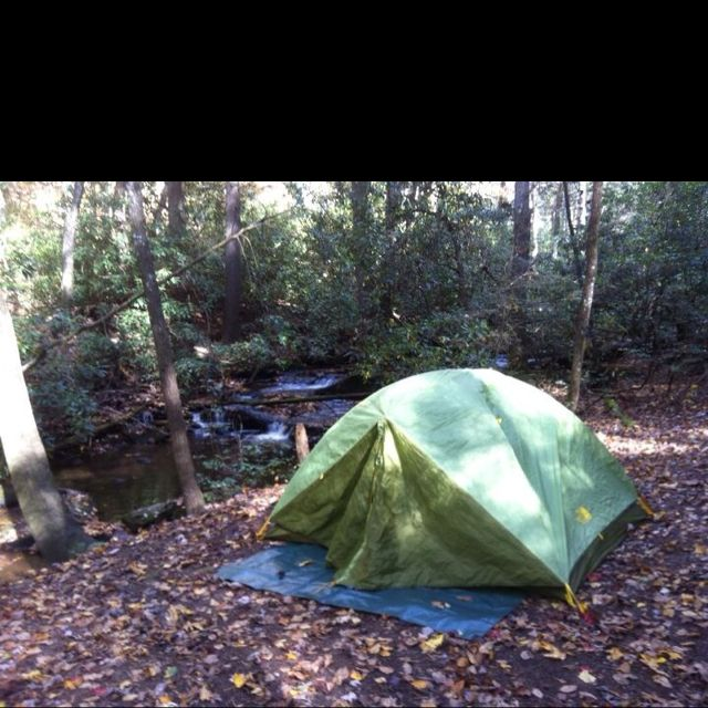 Our Northface Tent On Sanger Mountain. On The A.T. In