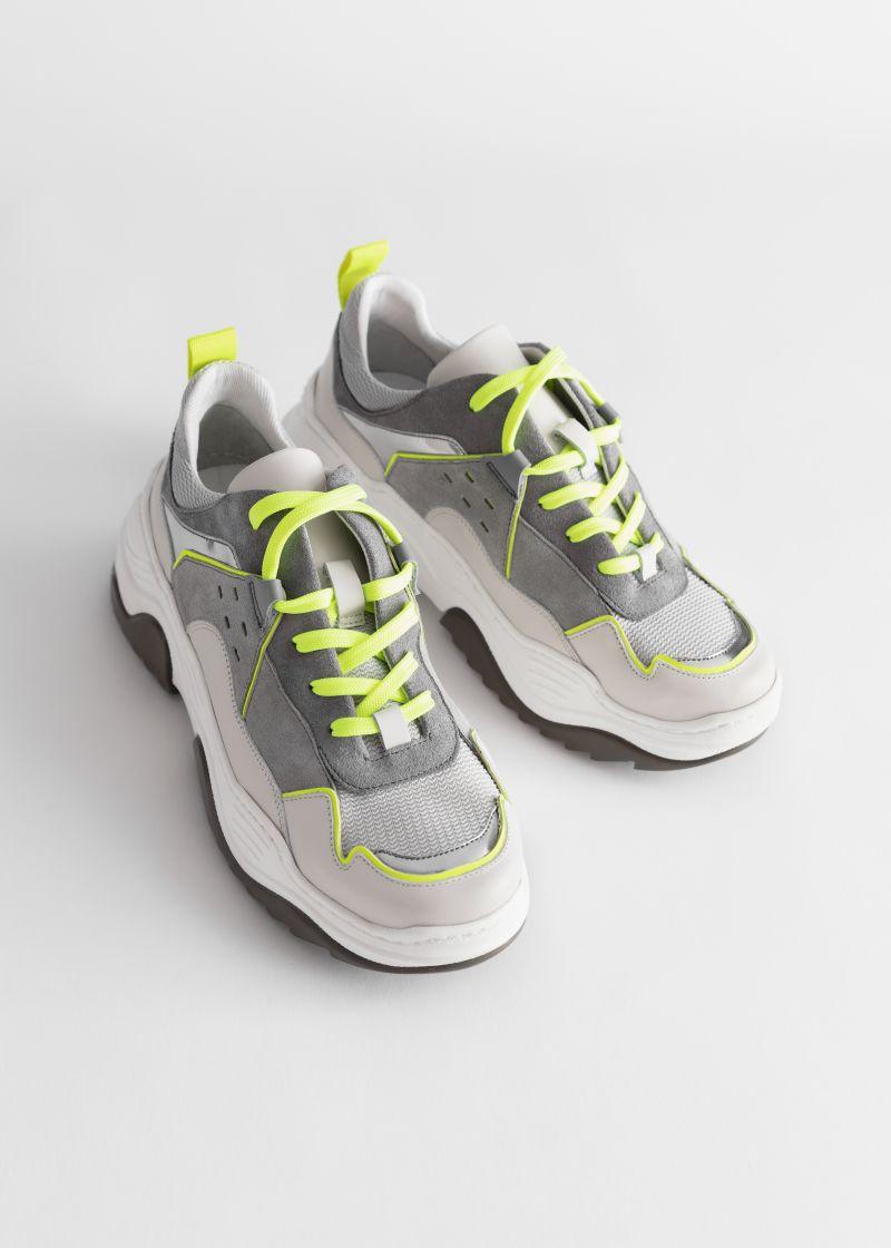 Technical Platform Sole Sneakers