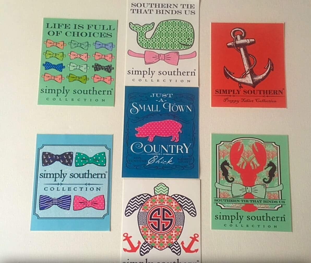 FREE Simply Southern Stickers FreebieFriday Coupons