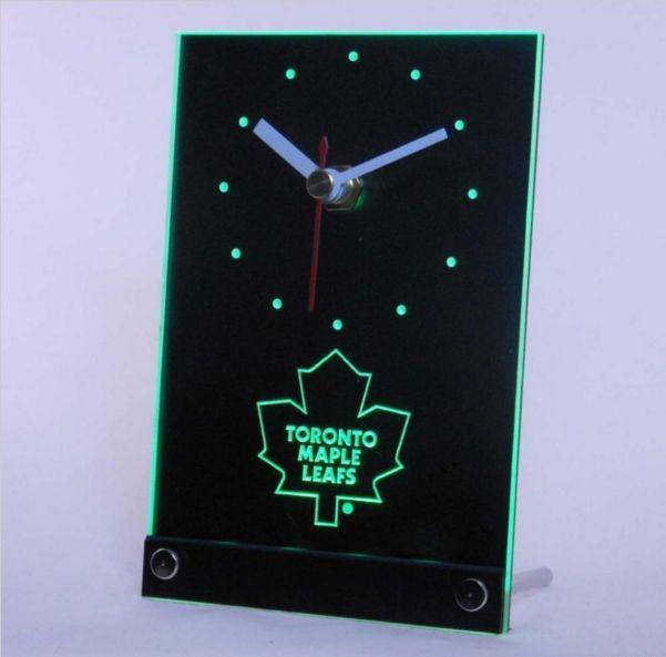 Toronto Maple Leafs LED DESK/TABLE CLOCK