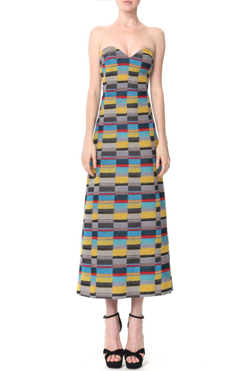 Missoni - Geometric Check Midi Dress | Armarium | clothes
