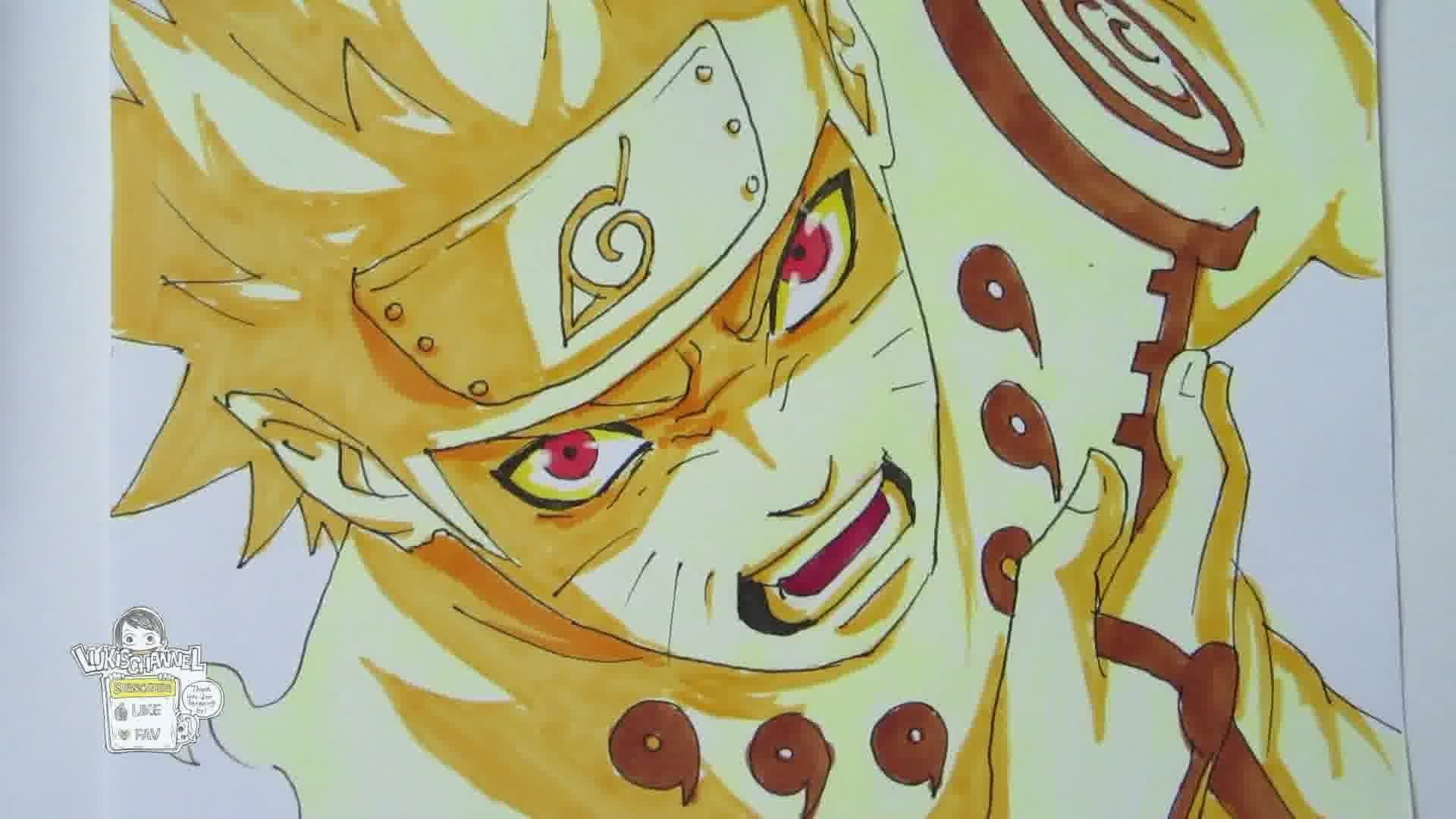 Pictures of How To Draw Naruto Kyuubi Mode - #rock-cafe
