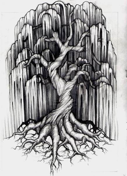Photo of Willow Tree Tattoo Thigh 46 idées pour 2019