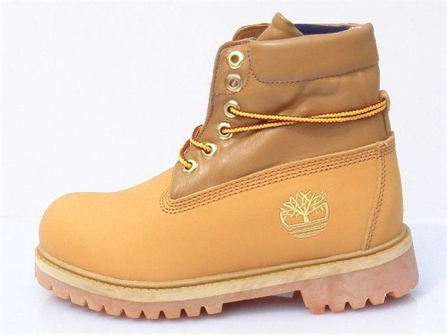 Mens Timberland Authentic Roll-Top Boots-Wheat Blue