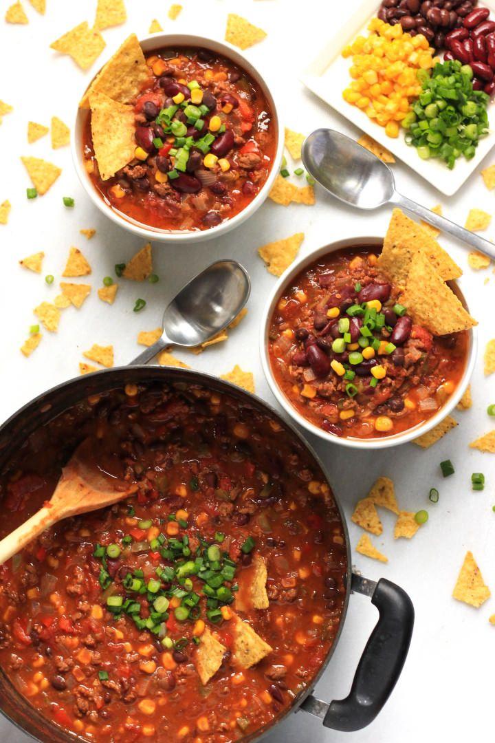 Easy One Pot Chili Con Carne Gluten Free Dairy Free Dish By Dish Recipe Chili Con Carne Chili Dishes Best Chili Recipe