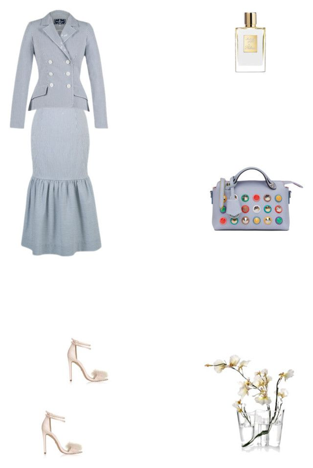 """Grace"" by zoechengrace on Polyvore featuring Lena Hoschek, Topshop, Fendi and iittala"