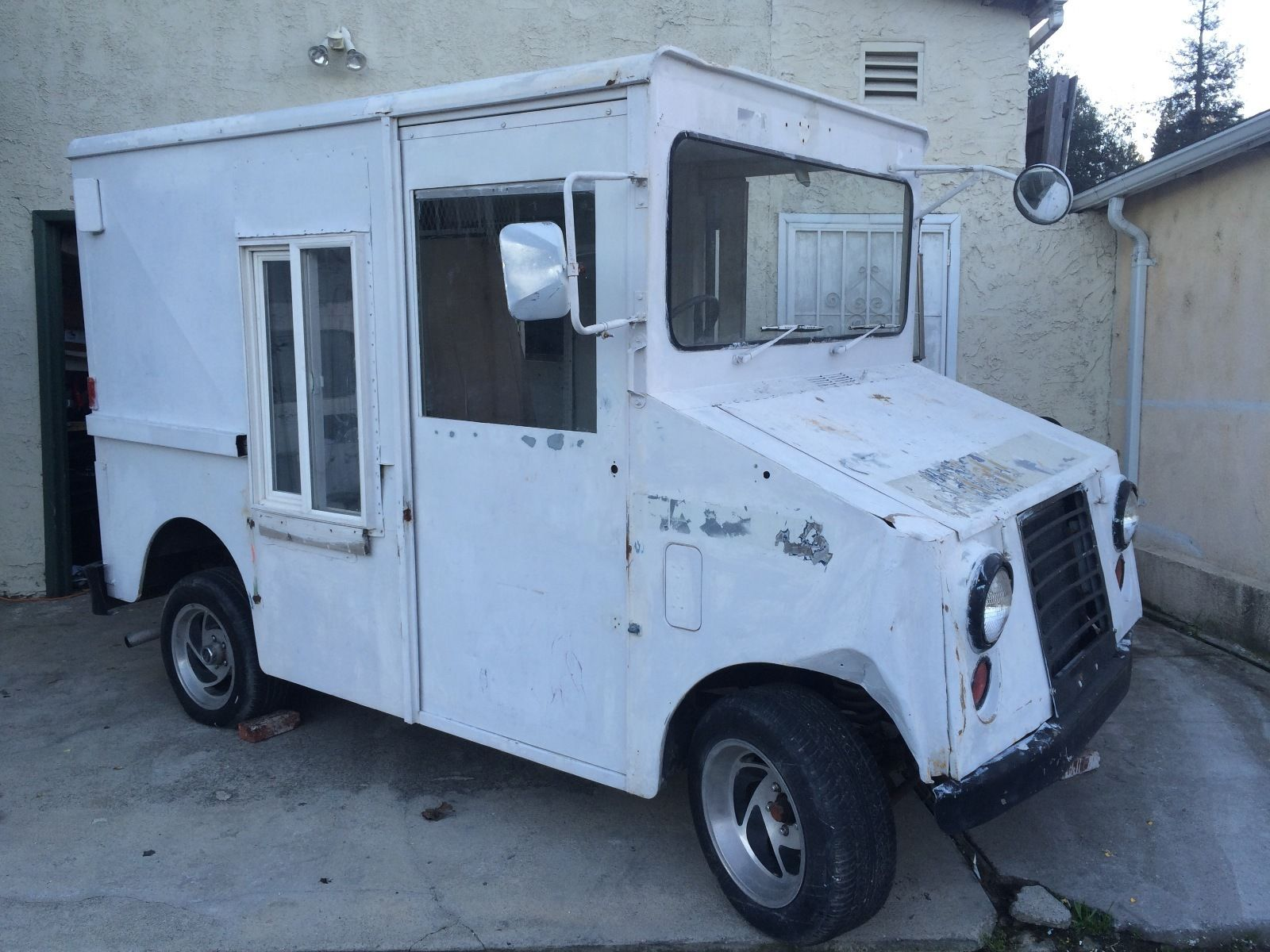 1971 Ford Postal Truck Ice Cream Truck Shorty Step Van Step Van Van For Sale Ice Cream Truck