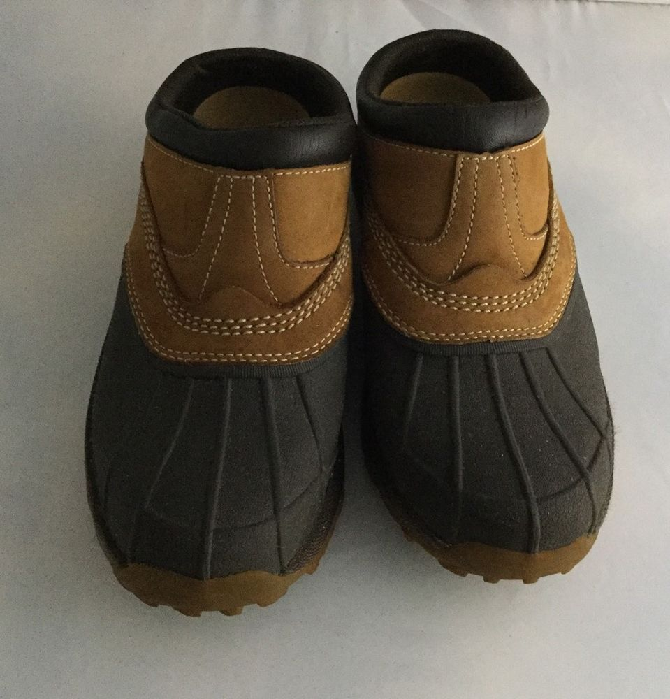 LL. BEAN Storm Chaser Boots Clogs Mocs Garden Mud Shoes Size 8.5 ...