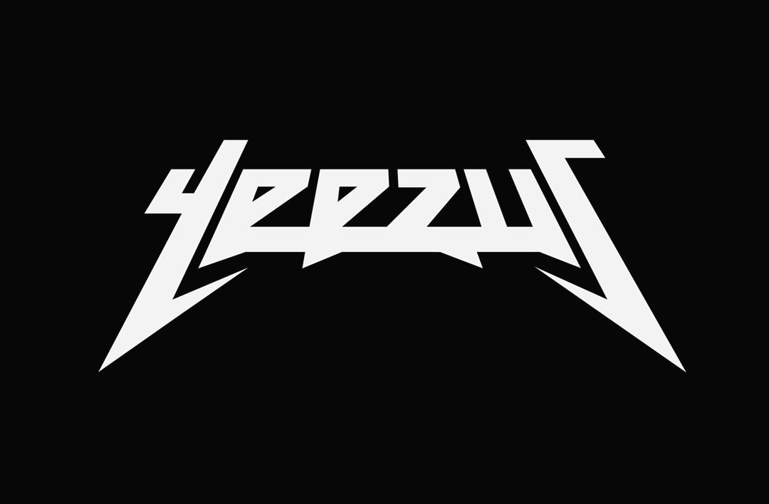 yeezus u201d logo pinteres rh pinterest com Heavy Metal Band Logo Generator Metal Band Font Generator