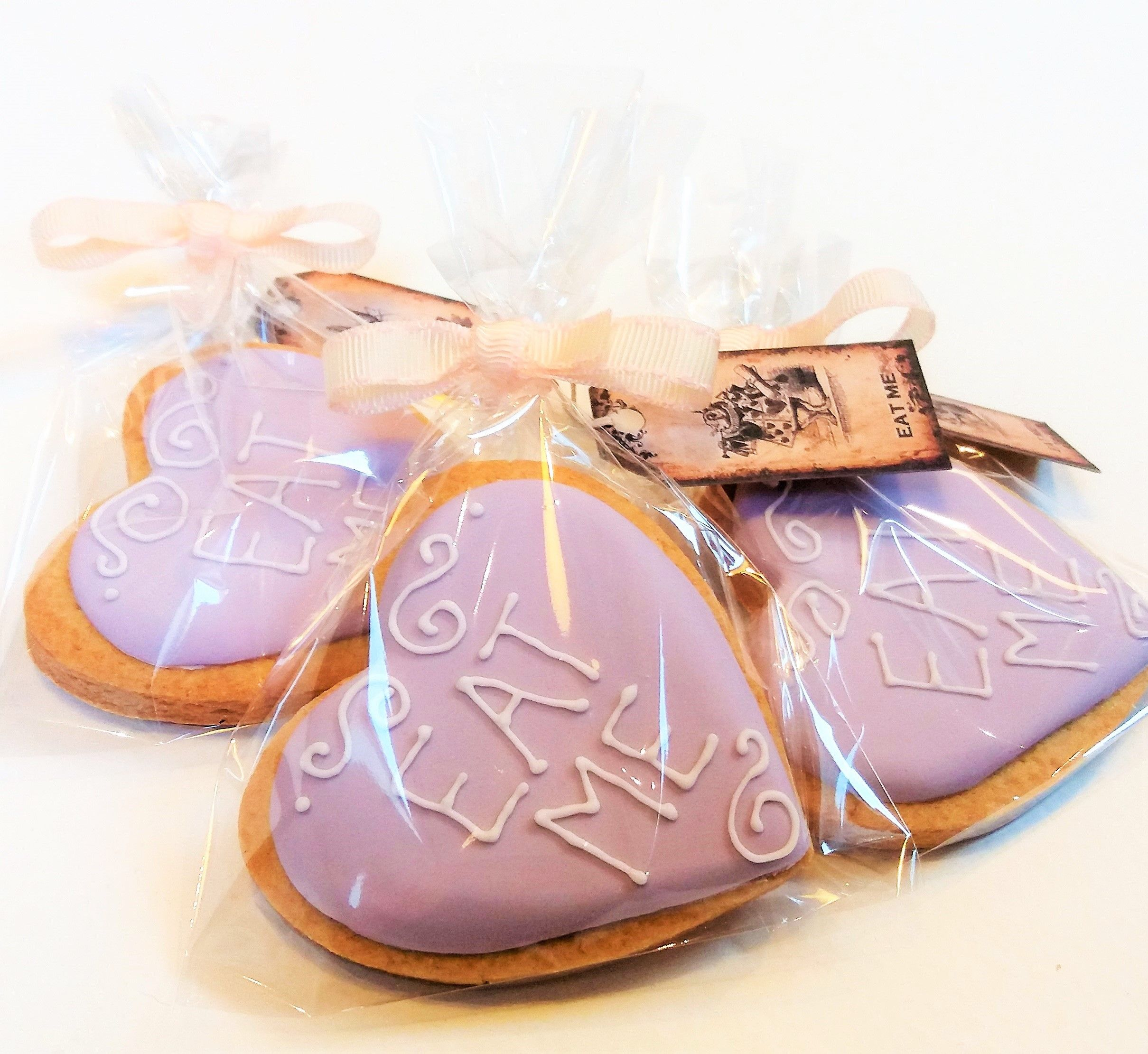 Wedding Favour cookie bags | www.sugarbcakes.co.uk | Pinterest ...