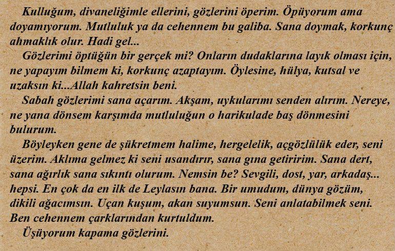 Ahmed Arif In Leyla Erbil E Yazdigi Mektup Gercekler Opera Mutluluk