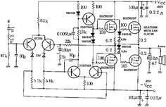 Mosfet Amplifier with power output 400W (With images