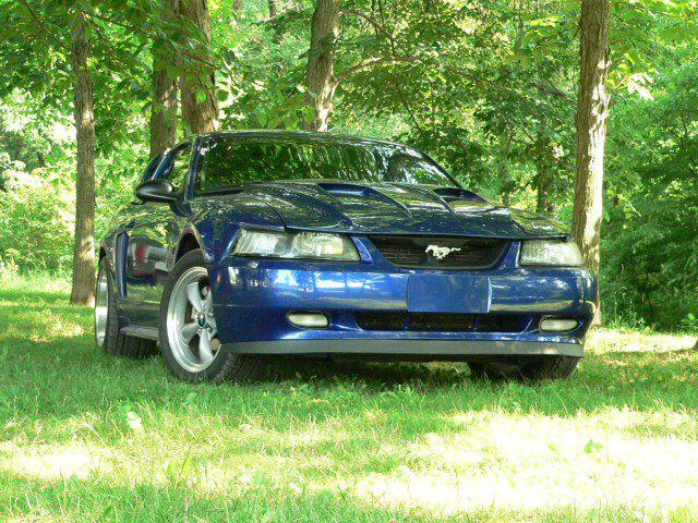 02' Sonic Blue Mustang GT