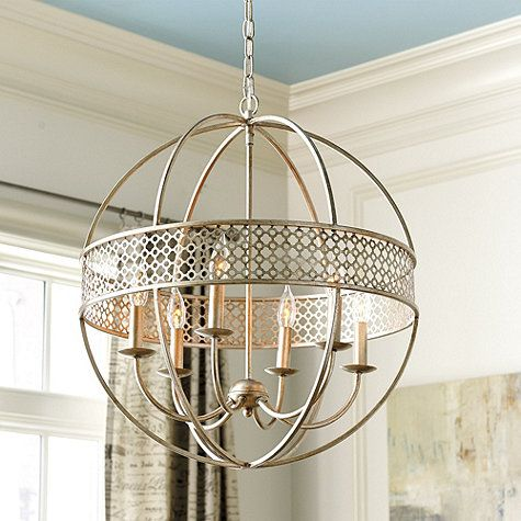 Amazing Marais 6 Light Orb Chandelier