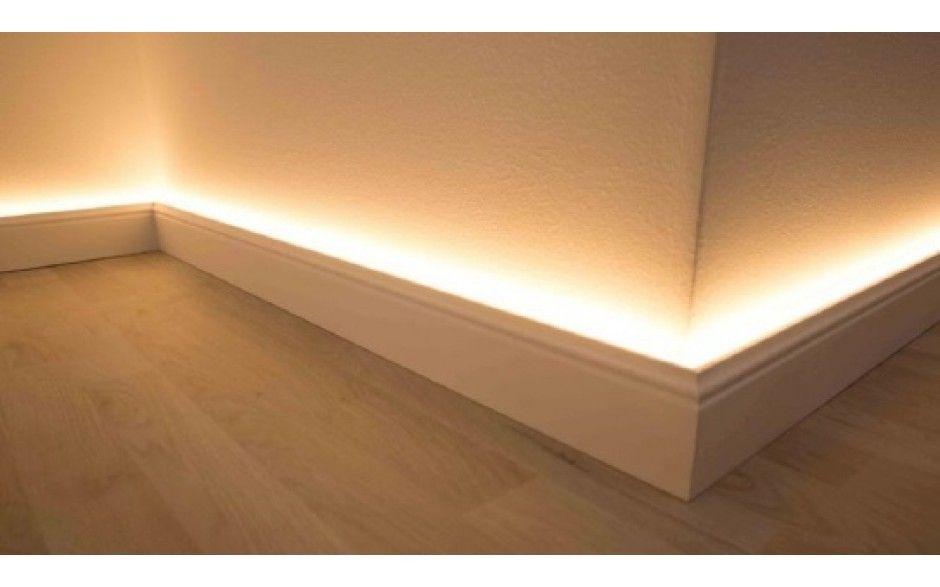 Good LED Licht Fußbodenleistenrahmen Aus Aluminium Für NMC Fußbodenleisten (NMC  WALLSTYL®) Design