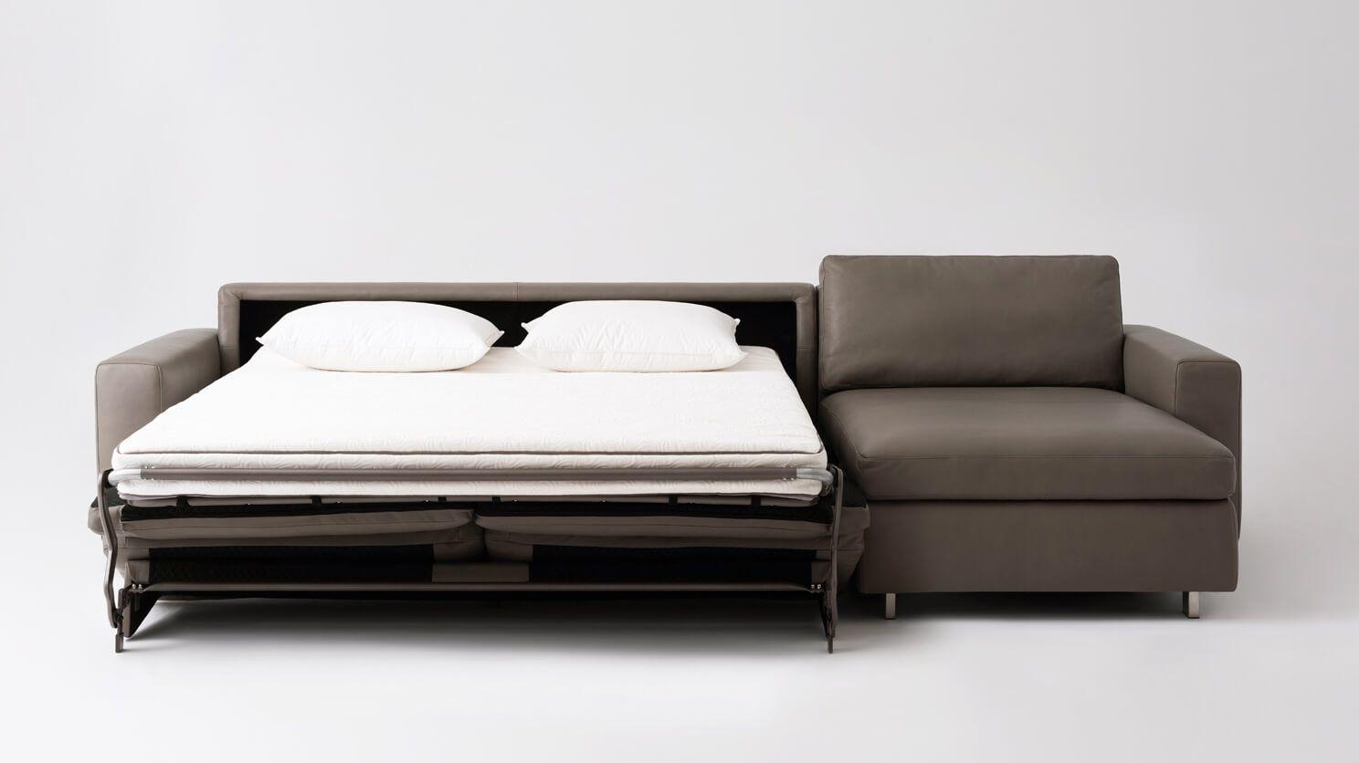 Reva 2 Piece Sectional Sleeper Sofa With Storage Chaise Sectional Sleeper Sofa Sleeper Sofa Queen Sofa Sleeper