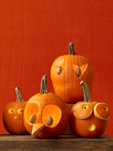 funny pumpkin carving ideas jack o lanterns womans day - Funny Halloween Pumpkin Carvings