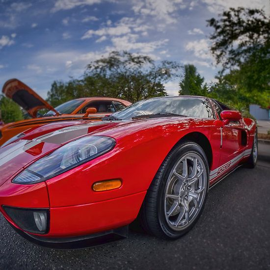 Red, Fast Cars, Metal