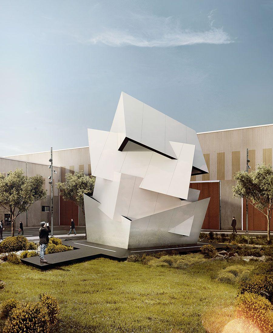 Amazing Architecture Magazine: Contained Chaos. Photo Credit: INTERIOR DESIGN Magazine