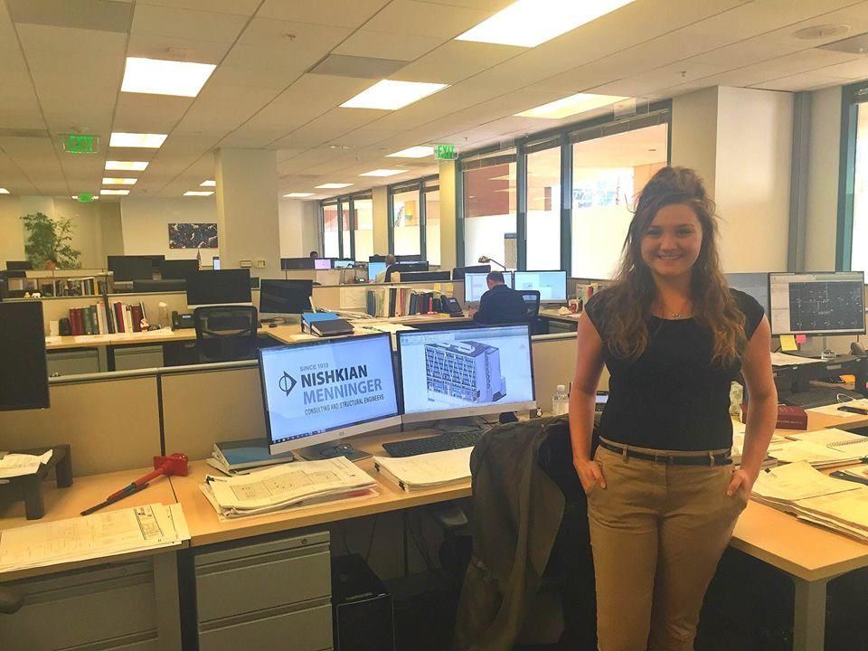 Civil engineering major & Colorado native Nicole Thompson