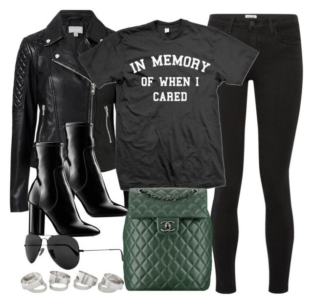 """""""Sin título #13742"""" by vany-alvarado ❤ liked on Polyvore featuring L'Agence, Witchery, Louis Vuitton and Ray-Ban"""