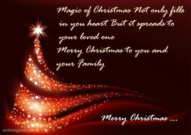 merry chritmas wishes and quotes