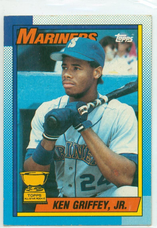 Baseball card show purchase 4 1990 topps ken griffey