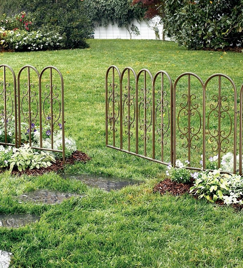 Garden Border Fence Edging Margarite Gardens With Images