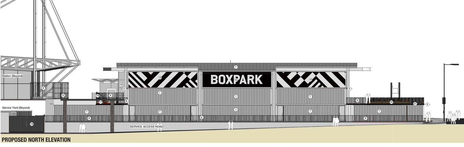 Gallery Of Boxpark Croydon Bdp 13 Proyectos